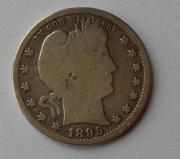 USA 1/4 Dolar 1895