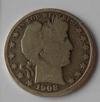 USA 1/2 Dolar 1908D