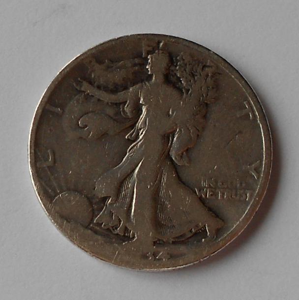 USA 1/2 Dolar 1934