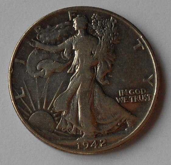 USA 1/2 Dolar 1942