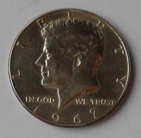 USA 1/2 Dolar Kennedy 1967