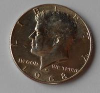 USA 1/2 Dolar Kennedy 1968