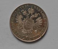 Čechy 20 Krejcar 1847C Ferdinand V.