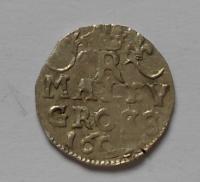 Čechy-Kutná Hora Malý Groš 1607 Rudolf ll.