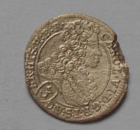 Čechy-Praha 3 Krejcar 1713 Karel VI.
