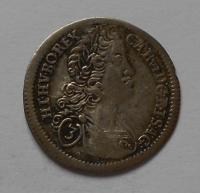 Čechy-Praha 3 Krejcar 1724 Karel VI.