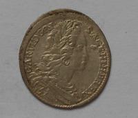 Čechy-Praha 3 Krejcar 1728 Karel VI.