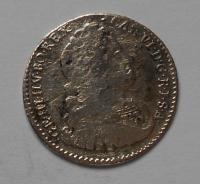 Čechy-Praha VI. Krejcar 1733 Karel VI.