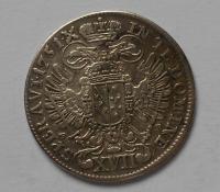 Čechy-Praha XVII. Krejcar 1751KB František Lotrinský
