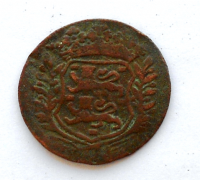 Nizozemí West Frisian Duit 1716