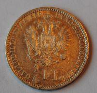 Rakousko 1/4 Fl 1859 A