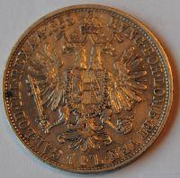 Rakousko 1 Fl 1858 A