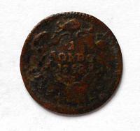 Rakousko 1 Soldo 1758 M. Terezie