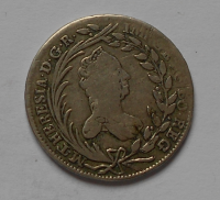 Rakousko 20 Krejcar 1763 M. Terezie