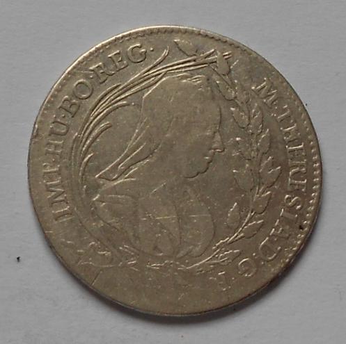 Rakousko 20 Krejcar 1767 ICSK M. Terezie