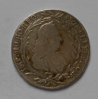 Rakousko 20 Krejcar 1769 ICSK M. Terezie