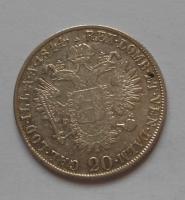Rakousko 20 Krejcar 1844M Ferdinand V.