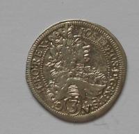 Rakousko-Gratz 3 Krejcar 1708 Josef I. STAV!