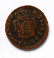 Rakousko Mezzo Soldo 1779 M. Terezie