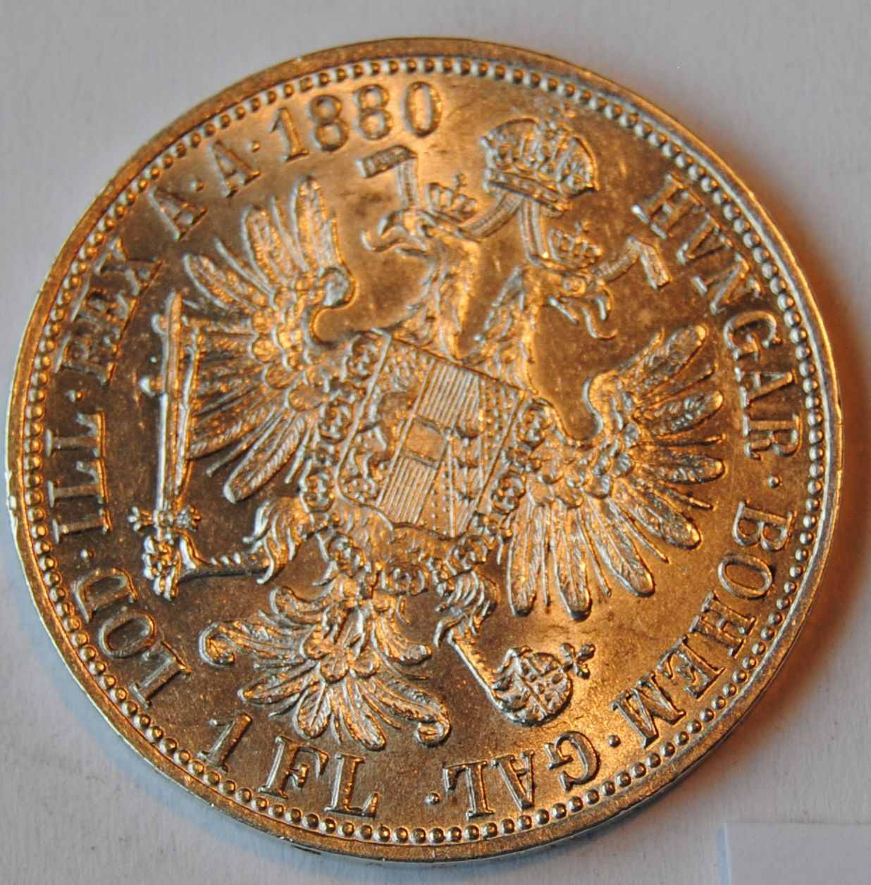 Rakousko STAV 1 Fl 1880