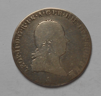 Rakousko 1/4 Tolar 1792A Leopold ll.