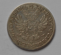 Rakousko 1/2 Tolar-Antverpy 1757 M. Terezie