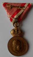 Rakousko - Uhersko - František Josef l. Signum Laudis s meči