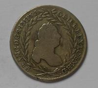 Rakousko-Vídeň 20 Krejcar 1756 František Lotrinský