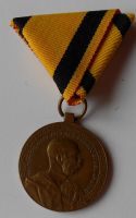 Rakousko záslužná medaile za 40 let služby