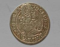 Slezsko-Vratislav 3 Krejcar 1708 Josef I.