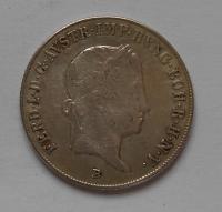 Uhry 20 Krejcar 1838B Ferdinand V.