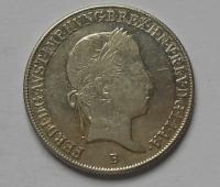Uhry 20 Krejcar 1845B Ferdinand V. STAV!