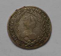 Uhry KB 20 Krejcar 1763 KB M. Terezie