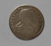 Uhry  XV. Krejcar 1745KB M. Terezie