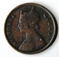 Brit. Indie 1/4 Anna 1862