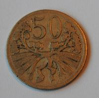 ČSR 50 Haléř 1927