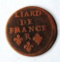 Francie LIARD 1655 Ludvík XIV.