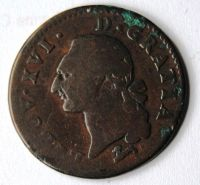 Francie Sol 1786 Ludvík XVI.