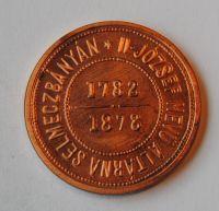 Rakousko 1 Fl Cu banskoštiav 1878 - novoražba