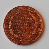 Rakousko 1 Fl Cu Příbramský 1875 - novoražba