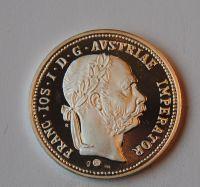 Rakousko 1 Fl Příbramský 1875 Ag - novoražba