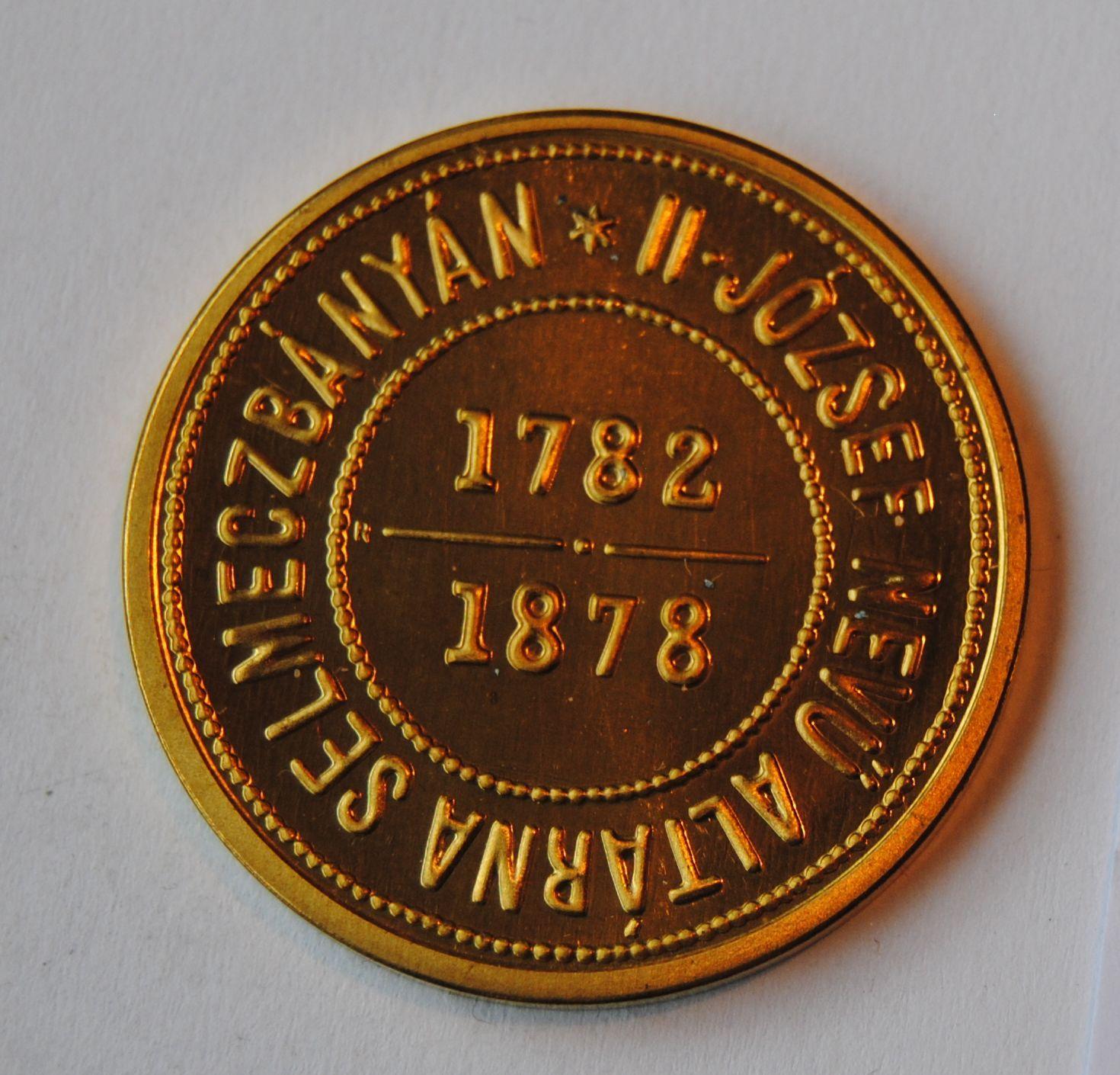 Rakousko 1 Fl zlacený banskoštiav 1878 - novoražba