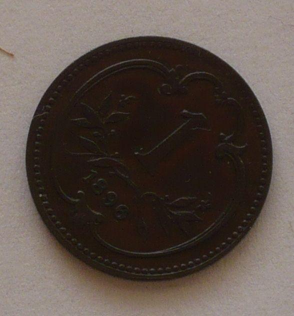 Rakousko 1 Haléř 1896, STAV!