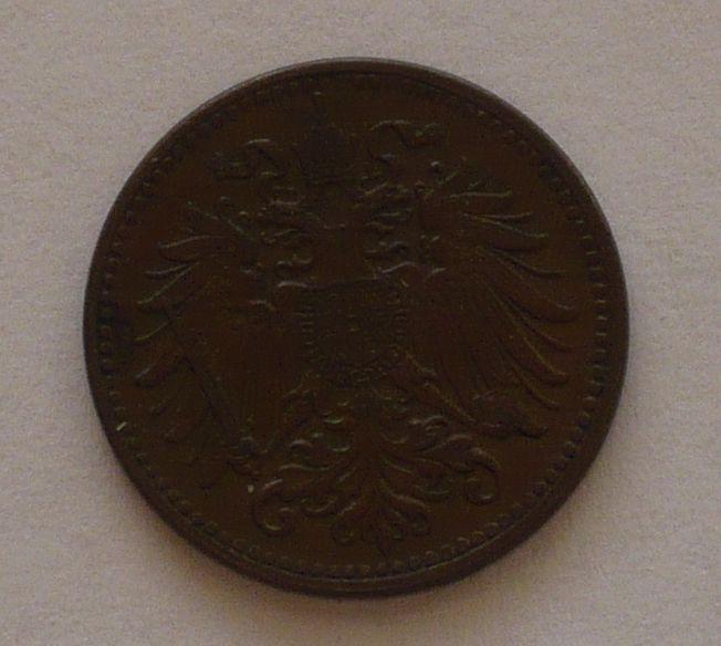 Rakousko 1 Haléř 1911, STAV!