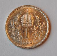 Rakousko 1 Koruna 1893, STAV!