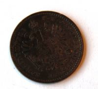 Rakousko 1 Krejcar 1860 B