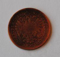 Rakousko 1 Krejcar 1865 V