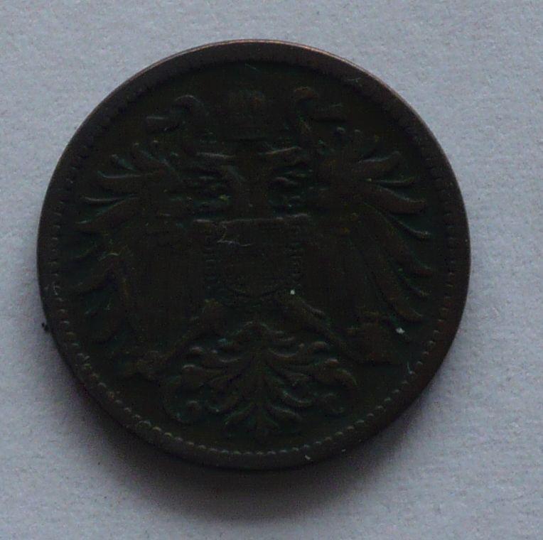 Rakousko 2 Haléř 1896