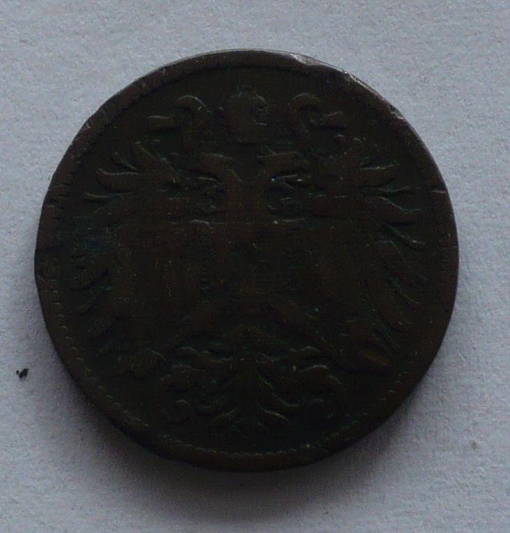 Rakousko 2 Haléř 1900