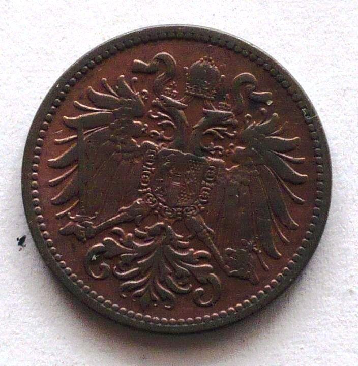Rakousko 2 Haléř 1908